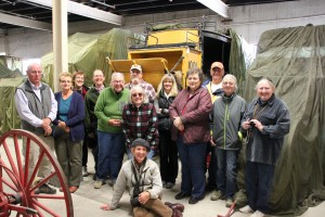 Volunteer field trip to Yellowstone National Park museum storage.