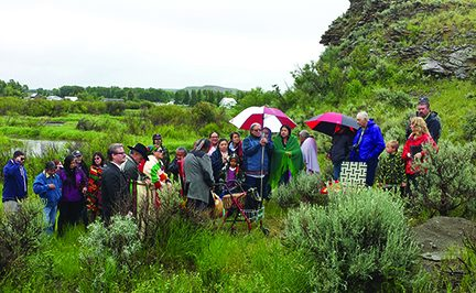 Repatriation and reburial of Clovis Child, Anzick Site