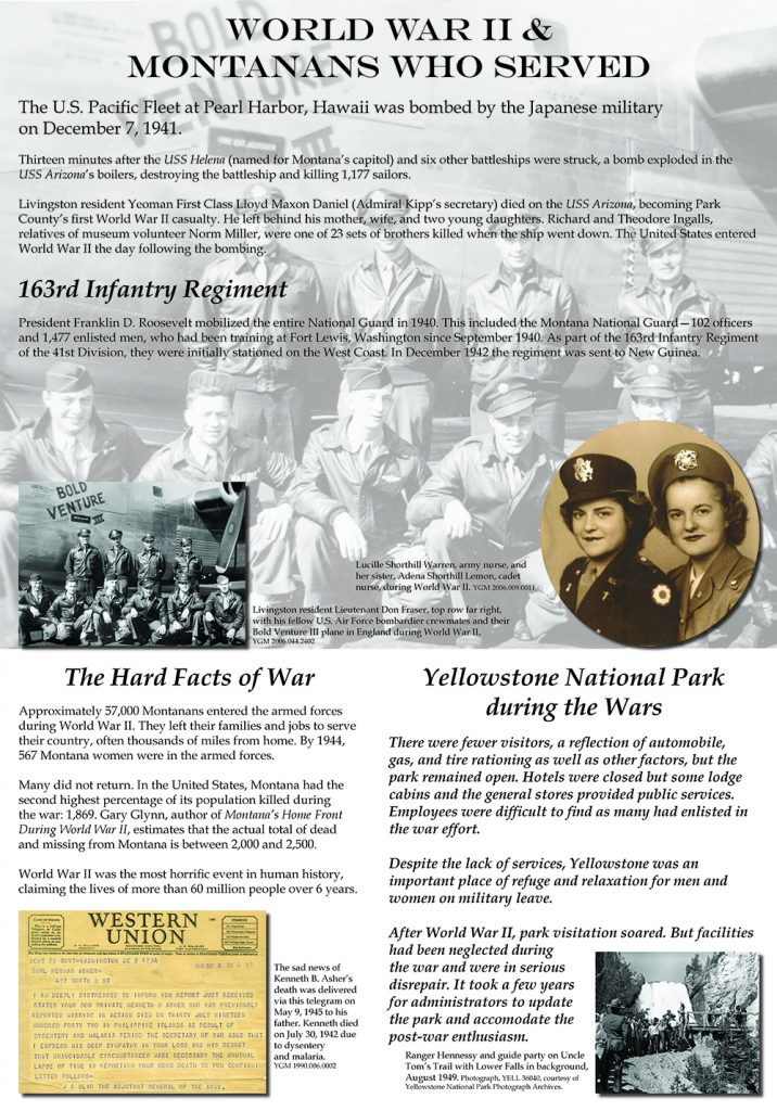 Montanans Who Served and YNP