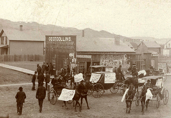 Election Day, Livingston, 1892